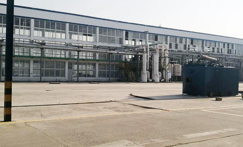 14 dioxane production plant